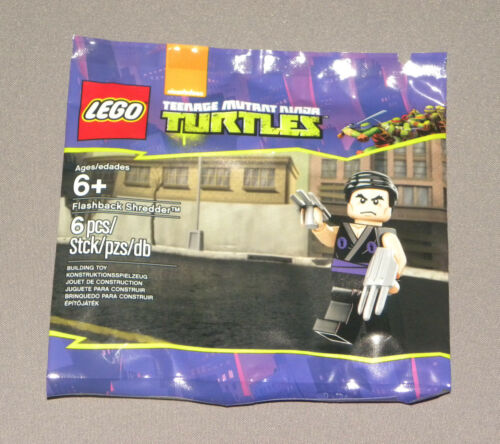 Ninja Turtles Bagged Flashback Shredder Minifigure LEGO 5002127 Polybagged Set