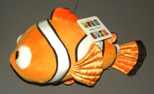 "Disney Pixar 12"" Soft Plush Nemo Doll Finding nemo NEW"