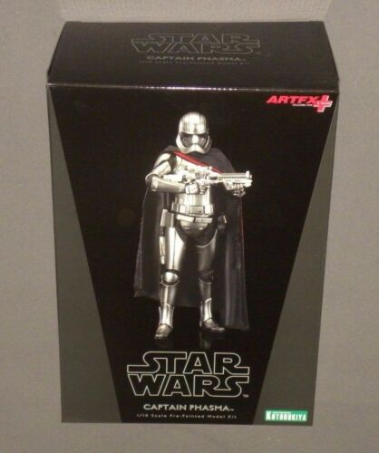 Star Wars Kotobukiya Captain Phasma The Force Awakens 1/10 Model Kit ArtFX