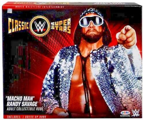 WWE Macho Man Randy Savage Collectible Robe Classic Superstars Full Size Replica