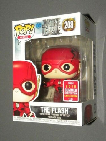 POP! Vinyl The Flash Running Justice League Summer Con Exclusive 2018 FUNKO