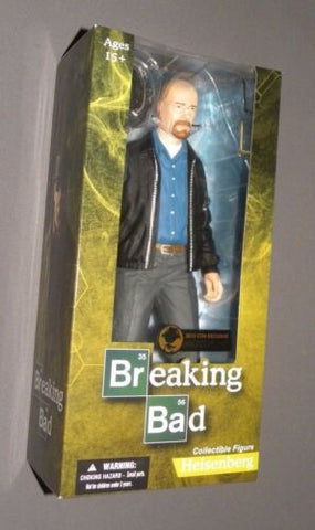 "Heisenberg 12"" 2015 Con Exclusive NYCC Collectible Figure Breaking Bad MEZCO"