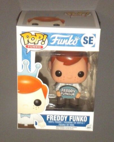 POP! FUNKO Freddy Funko Funklub Exclusive Club Figure 2016 NEW