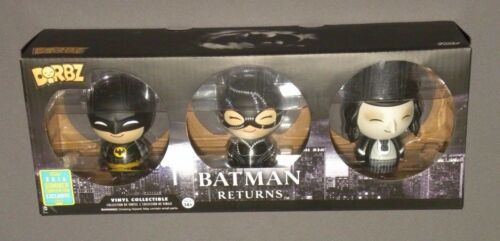 Dorbz Batman Returns 3 Pack Catwoman Penguin Vinyl SDCC Funko Figure Exclusive