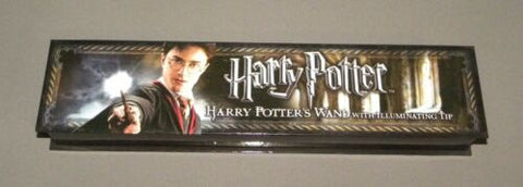 Harry Potter's Wand with Illuminating Tip Harry Potter Movies Prop Replica NEW