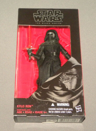"Kylo Ren The Black Series 6"" Action Figure The Force Awakens Star Wars NEW"