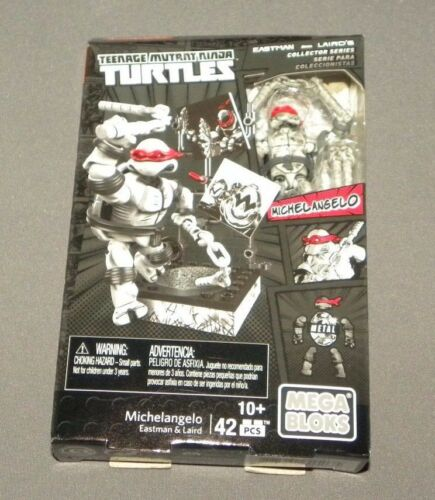 Mega Bloks Eastman and Laird's Michelangelo Teenage Mutant Ninja Turtles DPD85