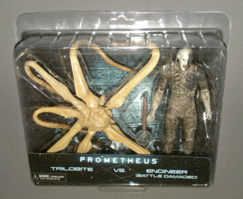 Prometheus Movie Action Figure 2 Pack Trilobite vs. Battle Damaged Engineer Set