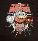 Funko Tees Secret Wars Marvel Exclusive XL Extra Large T-Shirt