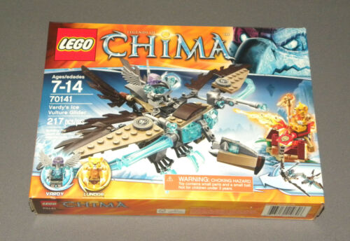 LEGO Vardy's Ice Vulture Glider Set 70141 Legends of Chima NEW