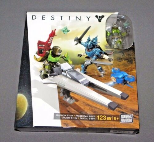 Mega Bloks DESTINY Sparrow S-10V Construction Set DPJ09