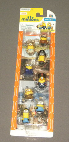 "MINIONS Movie 8 Figure Minion Gift Set 1"" Action Figures"