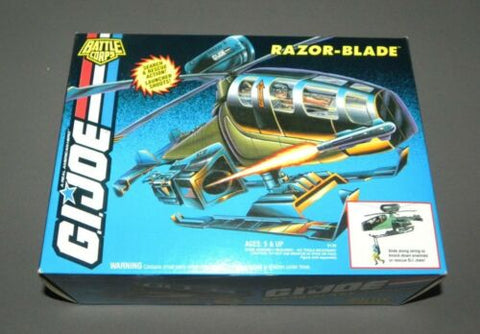 GI Joe Vehicle Razor Blade Helicopter Battle Corps NIB