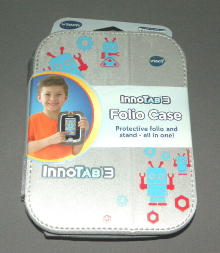 Innotab 3 Silver Folio Case Vtech NEW Accessories