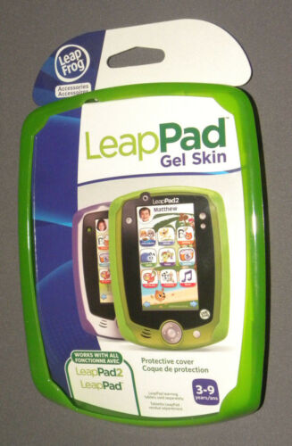 Leapppad 2 Green Gel Skin Leap Frog Leap Pad NEW Accessories
