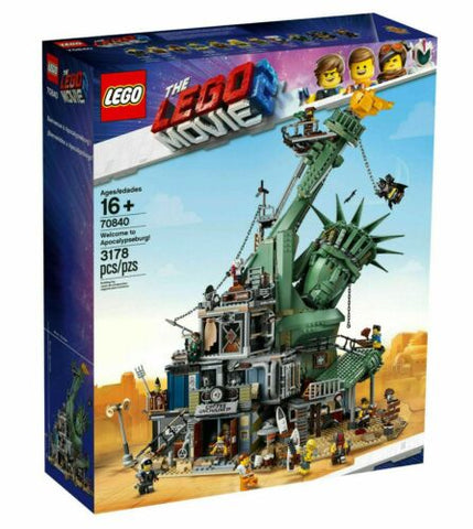 Welcome to Apocalypseburg LEGO Movie 2 Set 70840
