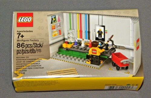 LEGO Minifigure Factory Promo Set 5005358 NEW