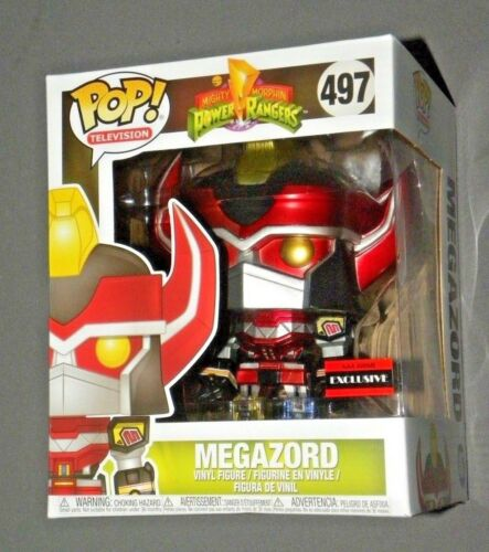 Pop! Mighty Morphin Megazord Vinyl Power Rangers Sdcc Funko AAA Anime Exclusiv