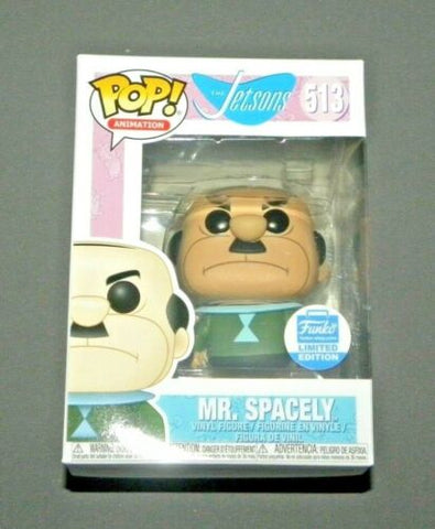 POP! Vinyl Mr. Spacely The Jetsons Figure FUNKO 513 Animation Limited Edition