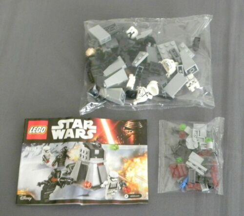 LEGO First Order Battle Pack Set 75132 Star Wars The Force Awakens NEW