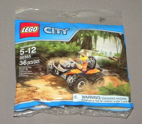 LEGO City Jungle ATV Set 30355 Polybag w Driver Minifigure NEW