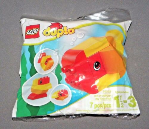 LEGO Duplo My First Fish Set 30323 Building Toy NEW