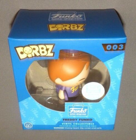 Dorbz Vinyl Freddy Funko Collectible Figure 2016 Exclusive