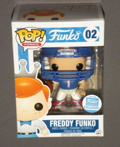 POP! FUNKO Freddy Funko All-American Football Player Exclusive Figure NEW