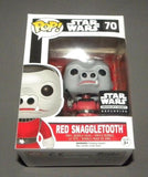 POP! Vinyl Star Wars Red Snaggletooth Smuggler's Bounty Figure Exclusive FUNKO