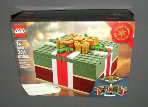 LEGO Christmas Gift Box 40292 Limited Edition Present Seasonal NEW