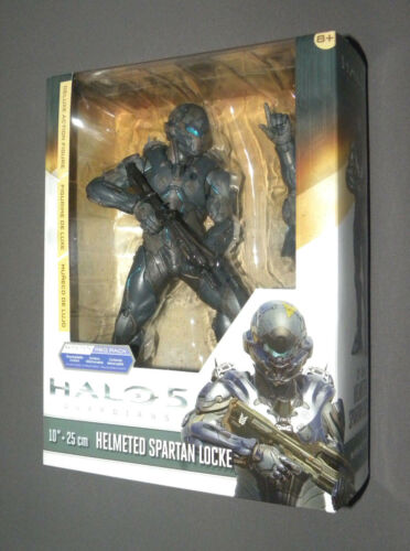 "HALO 5 Helmeted Spartan Locke Deluxe 10"" Action Figure McFarlane REQ Pack"