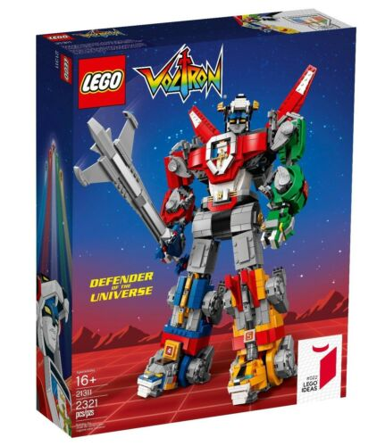 LEGO VOLTRON Set 21311 LEGO Ideas #022 Defender of the Universe