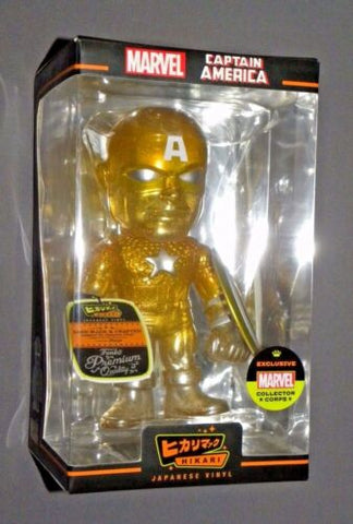 Funko Hikari Captain America Year One Box Marvel Gold Collectors Corps NEW