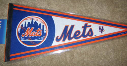 1 NEW NY New York Mets Full Size Official MLB Pennant