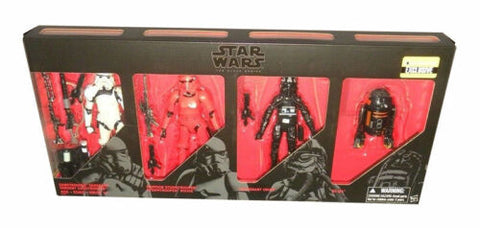 Star Wars Imperial Forces The Black Series 4 Figure Set w Crimson Stormtrooper