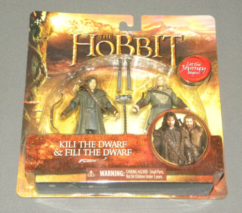 The Hobbit Figure 2 Pack Kili the Dwarf & Fili the Dwarf An Unexpected Journey