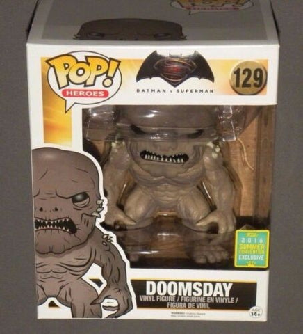 POP! Vinyl Doomsday Batman vs. Superman Summer Convention Exclusive FUNKO Giant