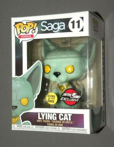 POP! Vinyl Lying Cat Saga GitD Skybound NYCC Exclusive 2018 FUNKO