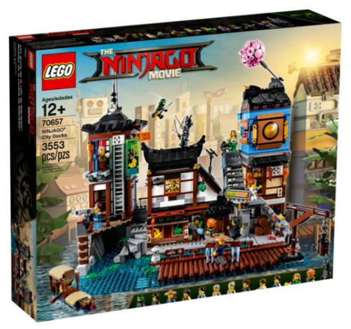 LEGO Ninjago City Docks The Ninjago Movie Set 70657