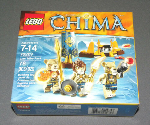 LEGO Lion Tribe Pack Set 70229 Legends of Chima 3 Minifigures