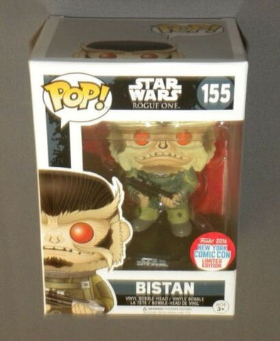 POP! Bistan Star Wars Rogue One NYCC Exclusive Figure 2016