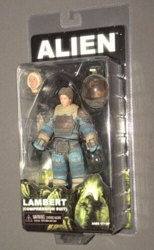 "Lambert Alien 2017 Compression Suit Aliens Figure 7"" NECA Reel Toys Series 11"