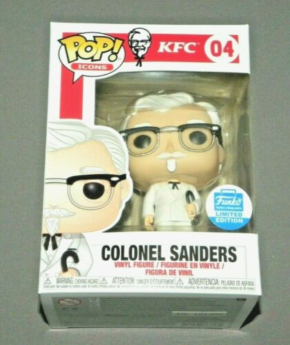 POP! Colonel Sanders with Cane KFC FUNKO Icons Vinyl Figure Limited Edition