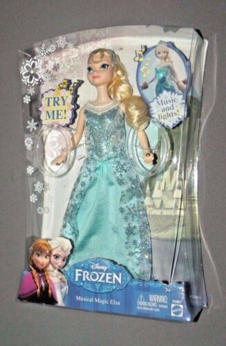 Disney Frozen Musical Magic Elsa Doll w Music & Lights Movie Figure 11""