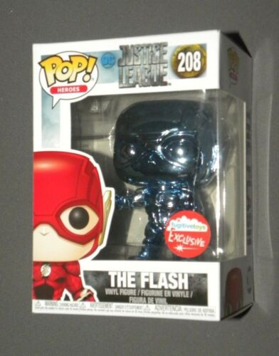 POP! Vinyl The Flash Blue Chrome Fugitive Toys NYCC Exclusive 2018 FUNKO