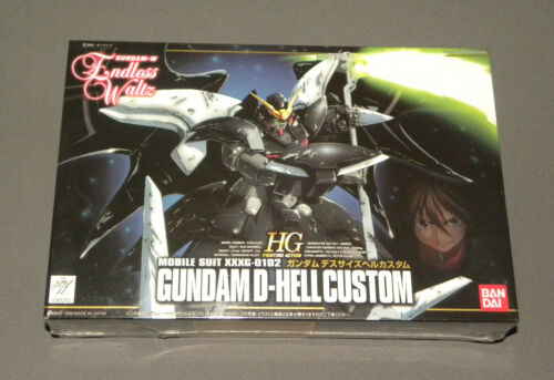 Endless Waltz Gundam D-Hellcustom Mobile Suit XXXG-01D2 Model HG Ban Dai NEW