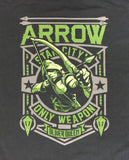 Funko Tees Arrow DC Universe TV Exclusive XL Extra Large T-Shirt Black