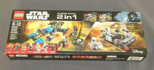LEGO Star Wars Super Pack 2 in 1 Gift Set 66556 Rogue One (75167 & 75166)