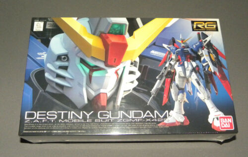 Destiny Gundam ZAFT Mobile Suit ZGMF-X42S Model Set Kit RG Ban Dai NEW