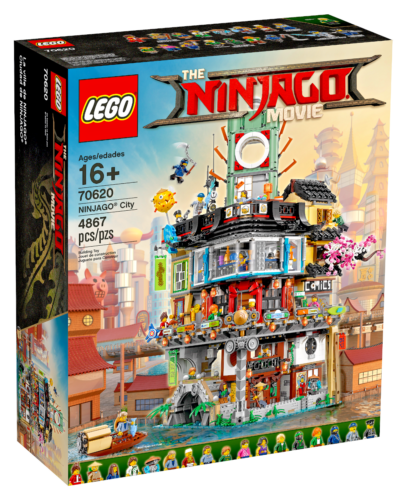 Lego Ninjago City The Ninjago Film Set 70620